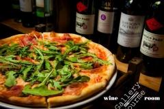 пица с пармой и руколой